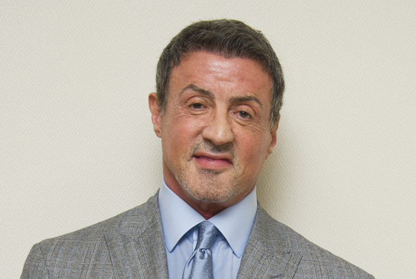 Sylvester Stallone at the Residenza di Pipette Hotel in Rome. Photo: Magnus Sundholm för the HFPA.