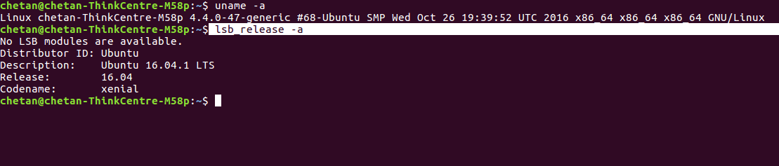 version-ubuntu-command-line