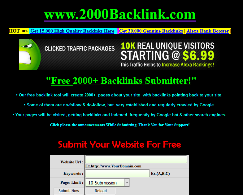 Top 21 sites for free Backlinks online - 2017 Updating List - Yeah Hub