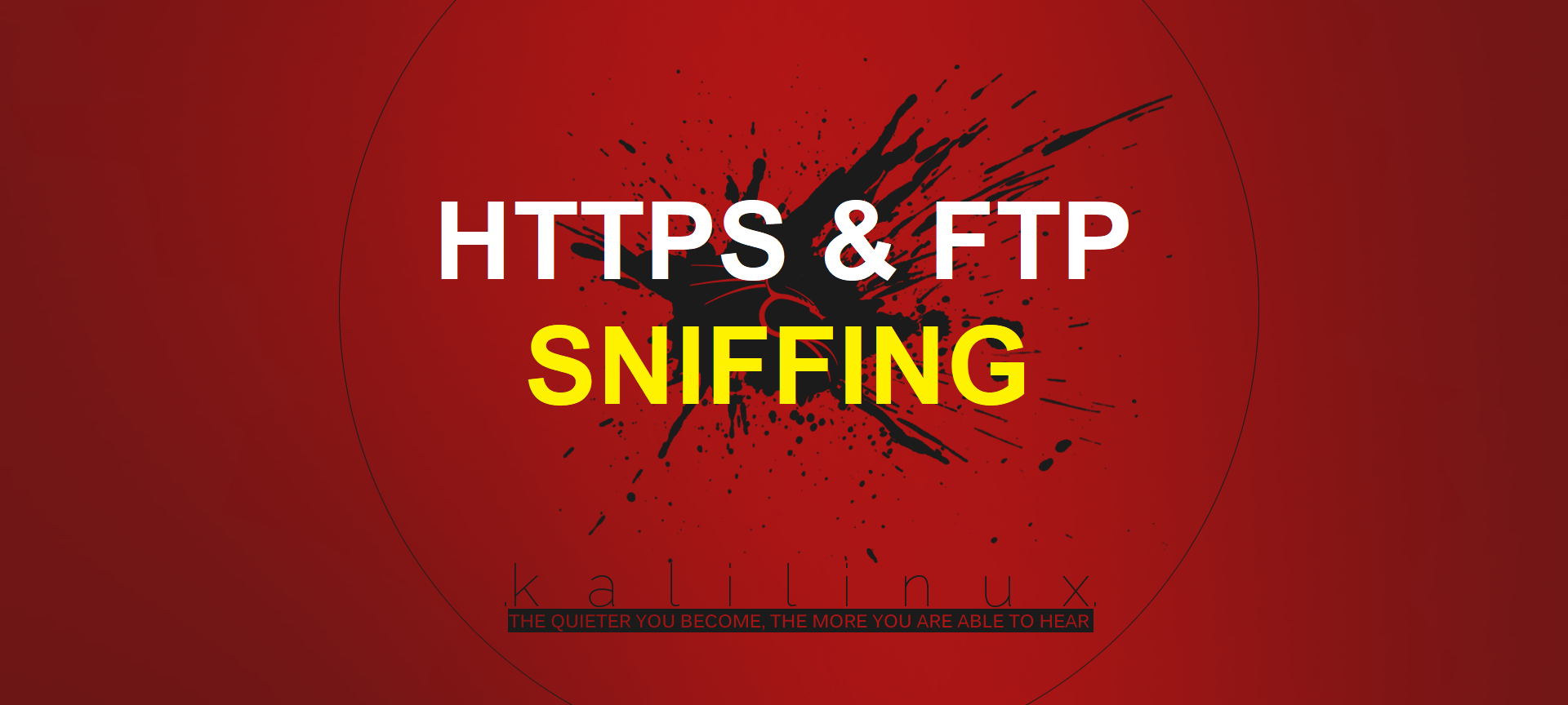 Sniff HTTPS/FTP Packets using SSLSTRIP and DSNIFF - ARP