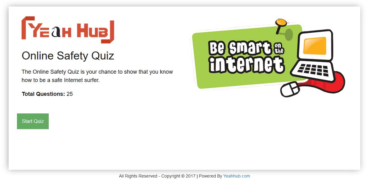 Take the Online Safety Quiz 2017 - Yeah Hub