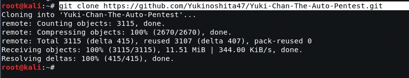 Yuki Chan - The Automated Penetration Testing Tool - Kali Linux