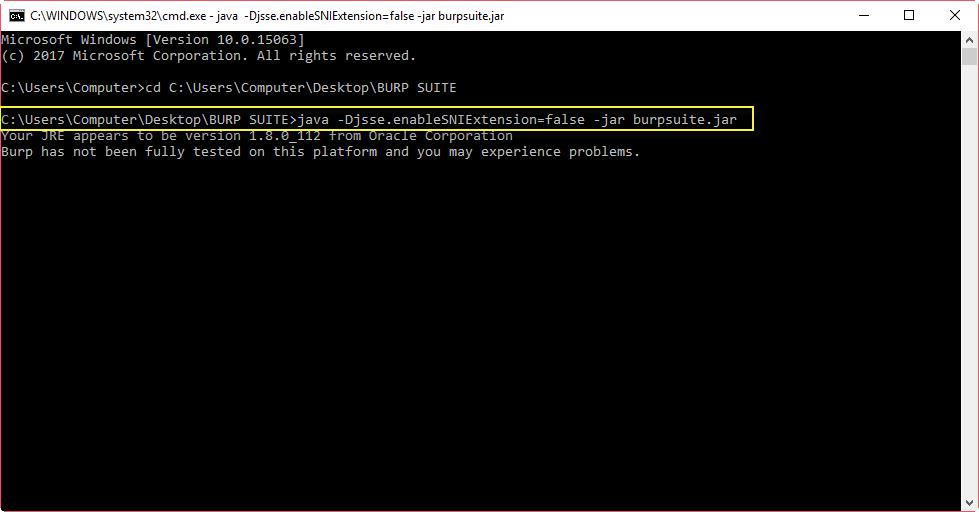Solution] SSL Handshake Alert Error - Burp Suite - Yeah Hub