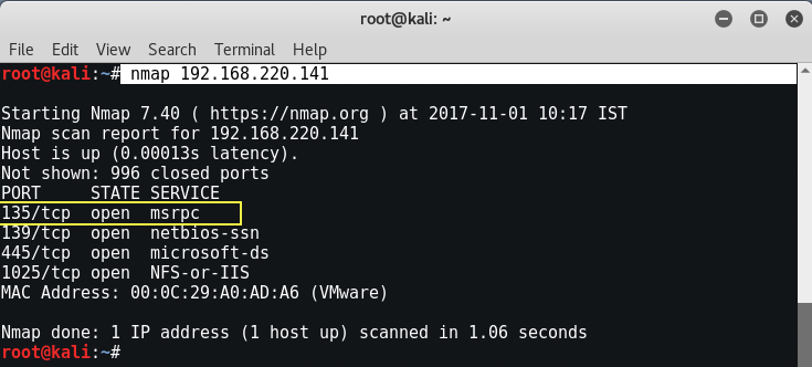 Pentesting Windows 2000/2003 Server with Metasploit Framework