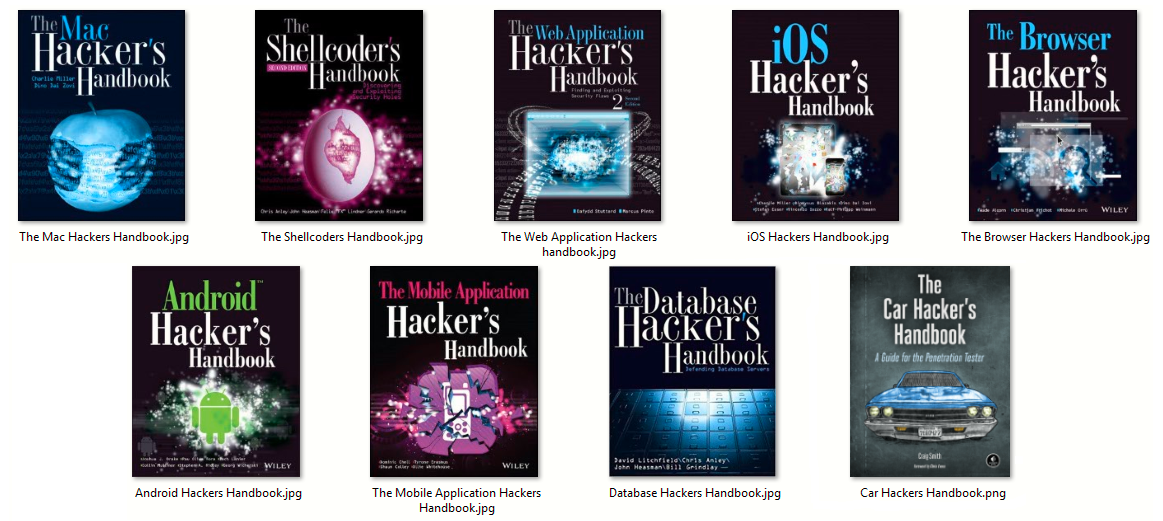Hacker's Handbook Series - Collection 2018 - Yeah Hub