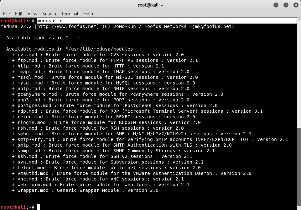Bruteforce Password Cracking with Medusa - Kali Linux - Yeah Hub