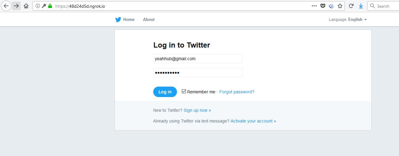 Ultimate phishing tool with Ngrok [SocialFish] - Yeah Hub