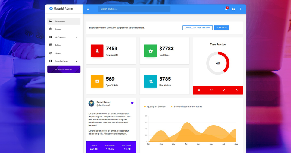 Most Popular Free Bootstrap Admin Panels [Free Download] - Yeah Hub
