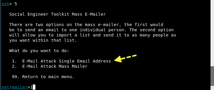 Send Fake Mail using SETOOLKIT [Kali Linux] - Yeah Hub