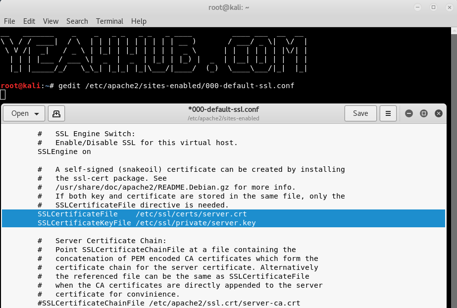 How To Enable Self Signed Certificates For Local Apache Webserver