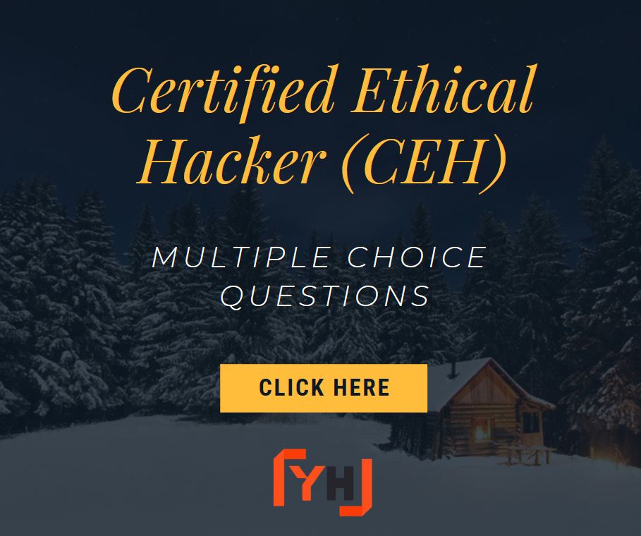 Certified Ethical Hacker Questions CEHv9