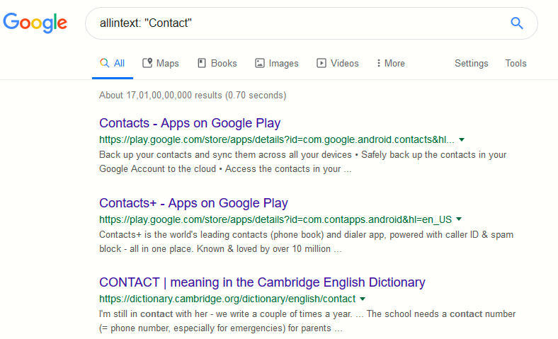 Top 8 Basic Google Search Dorks [Live Examples] - Yeah Hub