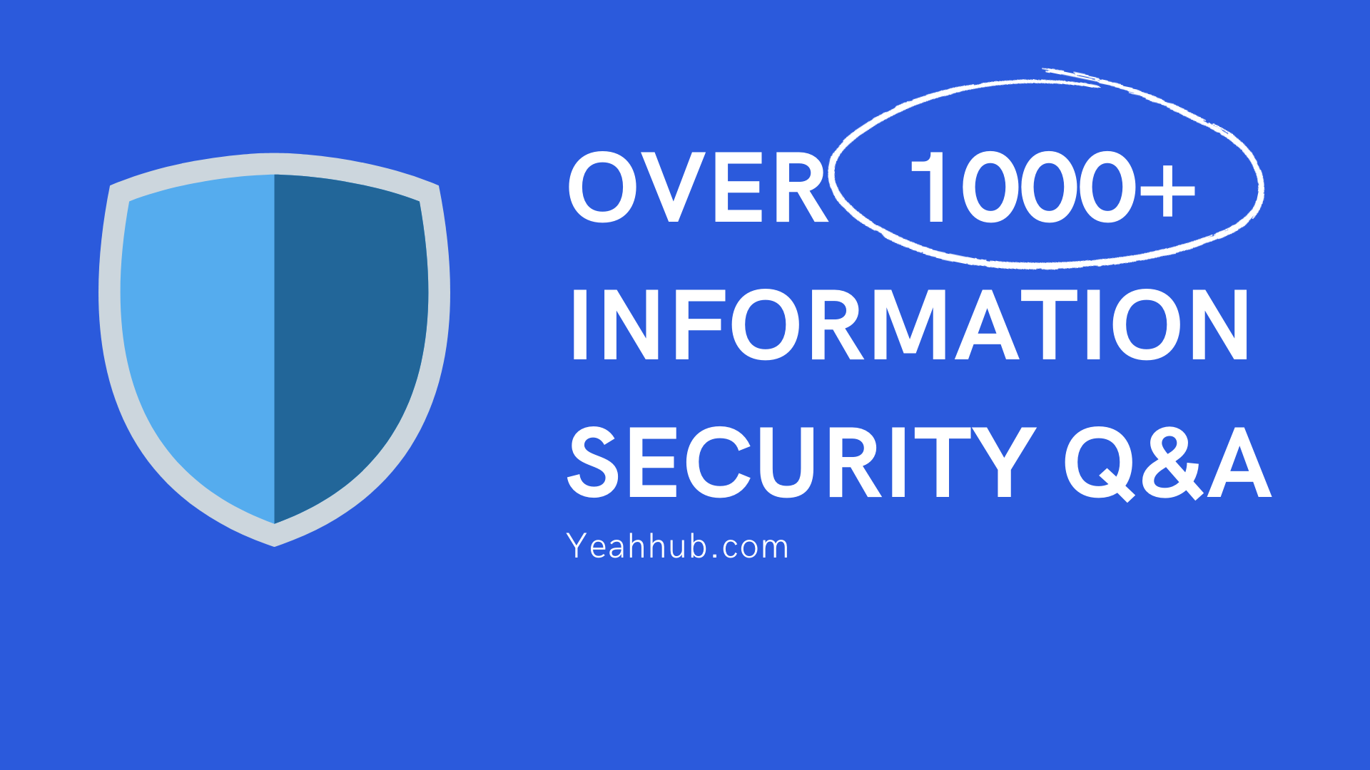 OVER 1000+ INFORMATION SECURITY Q&A